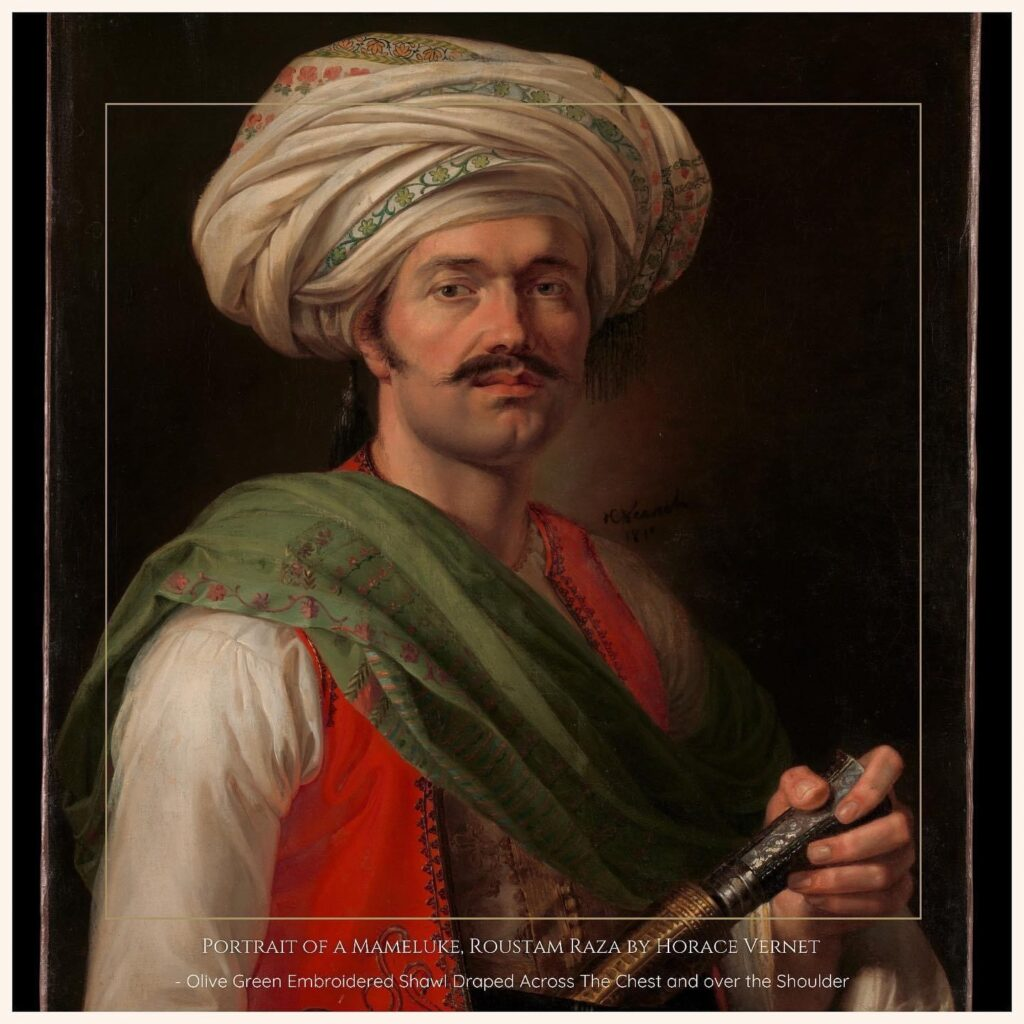 Portrait Roustam of Raza in Shawl, Metropolitan Museum of Art ,USA, 1810